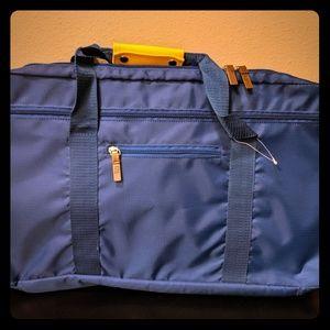 NWOT/ Blue Target Duffle/Backpack Combo